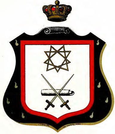 Escudos y Mandiles del rito Escocés 06degree