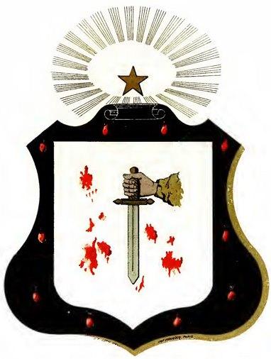 Escudos y Mandiles del rito Escocés 09degree