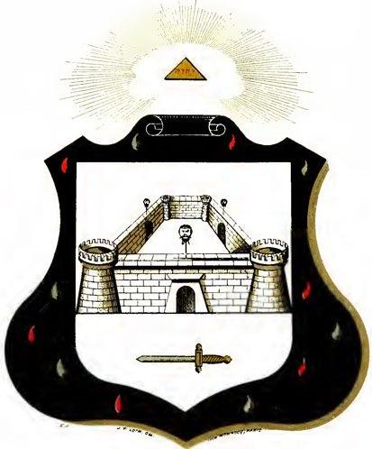 Escudos y Mandiles del rito Escocés 10degree