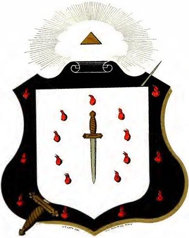 Escudos y Mandiles del rito Escocés 11degree