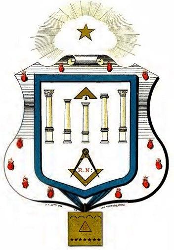 Escudos y Mandiles del rito Escocés 12degree1