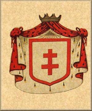 Escudos y Mandiles del rito Escocés 27