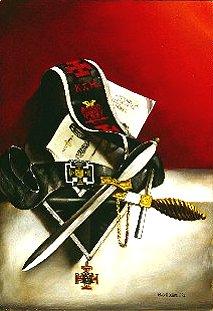 Escudos y Mandiles del rito Escocés 30