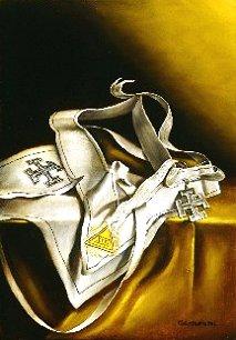 Escudos y Mandiles del rito Escocés 31