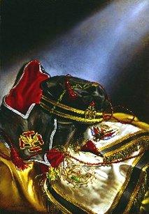 Escudos y Mandiles del rito Escocés 32