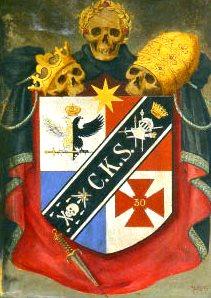 Escudo heráldico do grau de cavaleiro kadosh