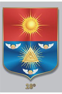 Escudos y Mandiles del rito Escocés Grau28