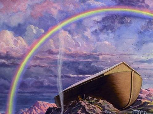 O arco-iris foi a aliança que Deus mostrou a noah