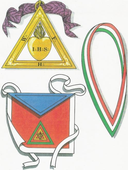 Escudos y Mandiles del rito Escocés Sr_26