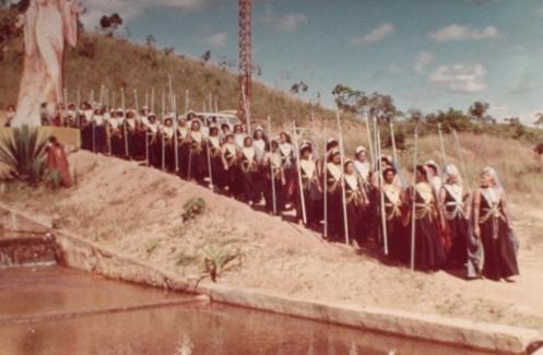 as ninfas Dharman-oxinto missionárias
