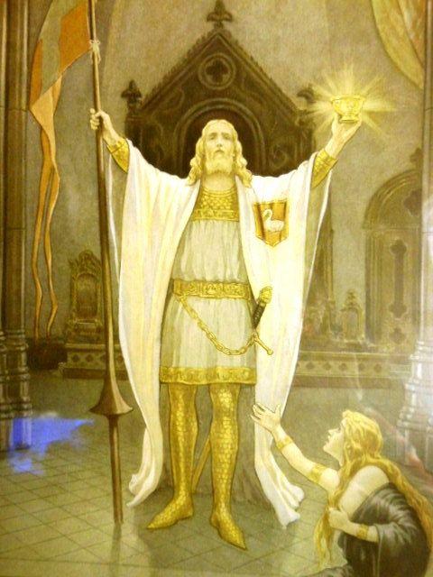 percival e o santo graal, por J.A knapp